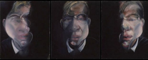 Francis Bacon, Three studies for a self-portrait (1979–80)