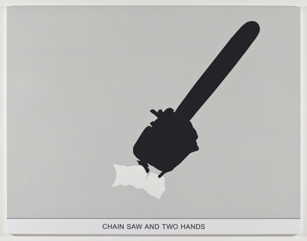 Chain Saw and Two Hands (2010)