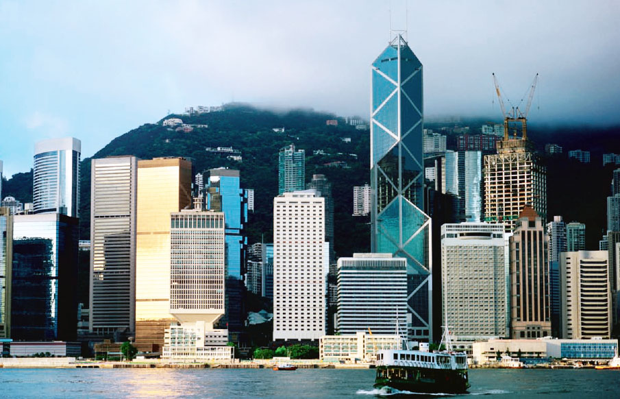 Bank of China Tower, Hong Kong (tallest building). As reproduced in 20th Century World Architecture The Phaidon Atlas