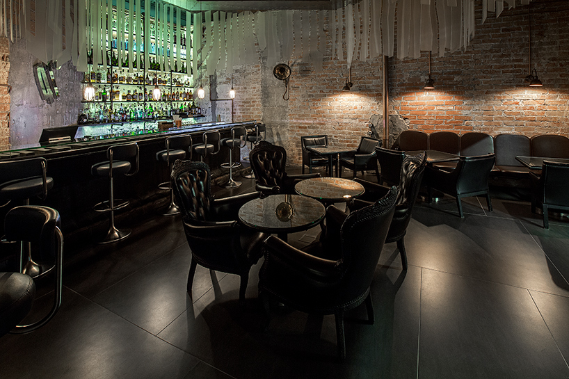 Enigma restaurant, Barcelona - Engima restaurant in Barcelona - photo by Pau Llimona courtesy of RCR Arquitectes
