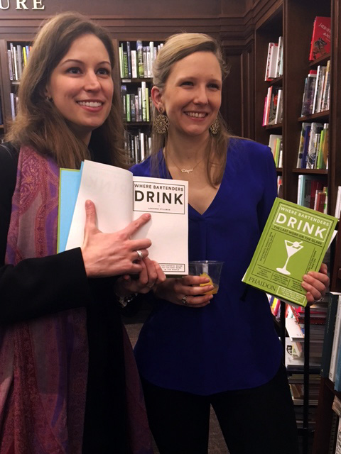 Rachel Ford and Adrienne Stillman at last night's launch
