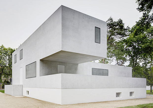 The new Masterhouse Gropius, BFM Architekten, Image: Christoph Rokitta, 2014, Bauhaus Foundation Dessau