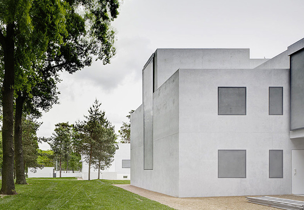 The new Masterhouse Maholy-Nagy, BFM Architekten, Image: Christoph Rokitta, 2014, Bauhaus Foundation Dessau