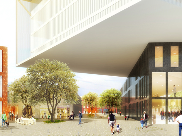 MVRDV's planned Beam for Villeneuve d'Ascq