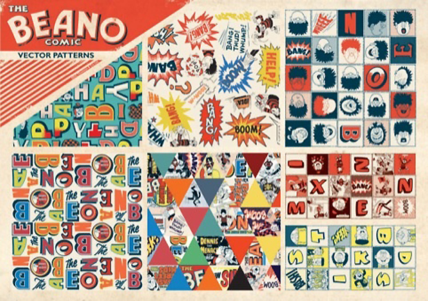 The Hemingways' Beano brand guidelines