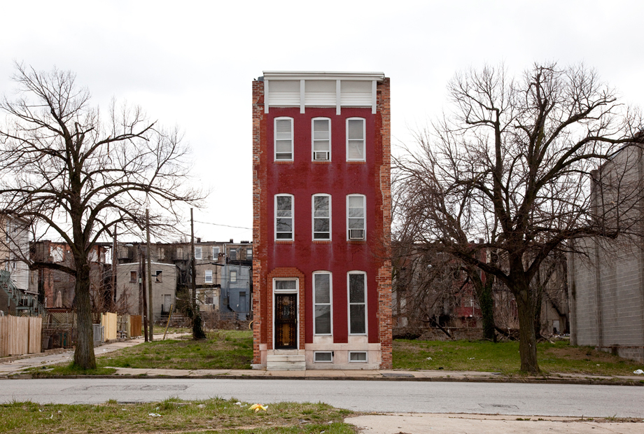Baltimore, MD, from Ben Marcin's series Last House Standing