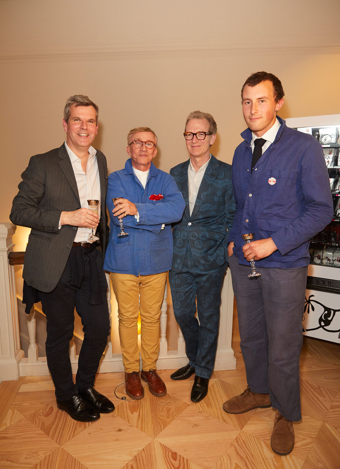 Ben Pentreath and Jasper Conran at the Interiors launch at MATCHESFASHION.COM in London