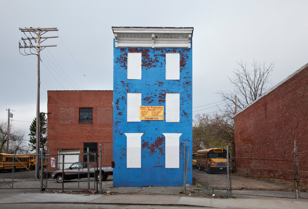 Baltimore, MD. from Ben Marcin's series Last House Standing