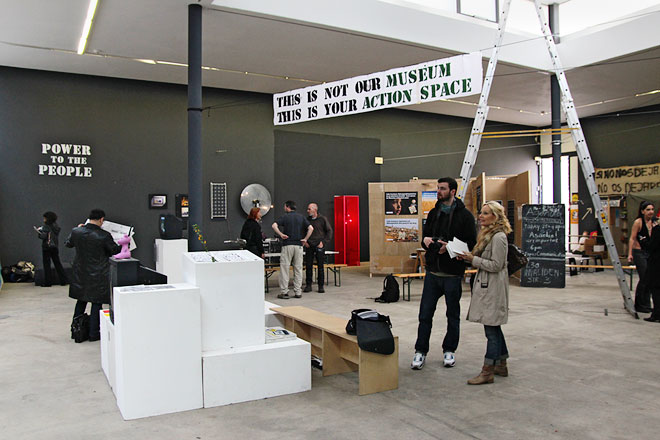Occupy at The Berlin Biennale