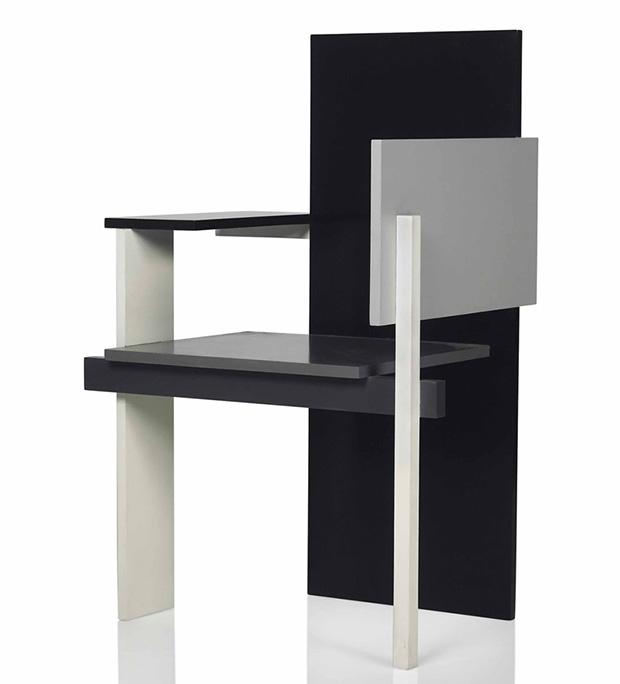 from book to bid gerrit rietveld s berlin chair design agenda phaidon. Black Bedroom Furniture Sets. Home Design Ideas