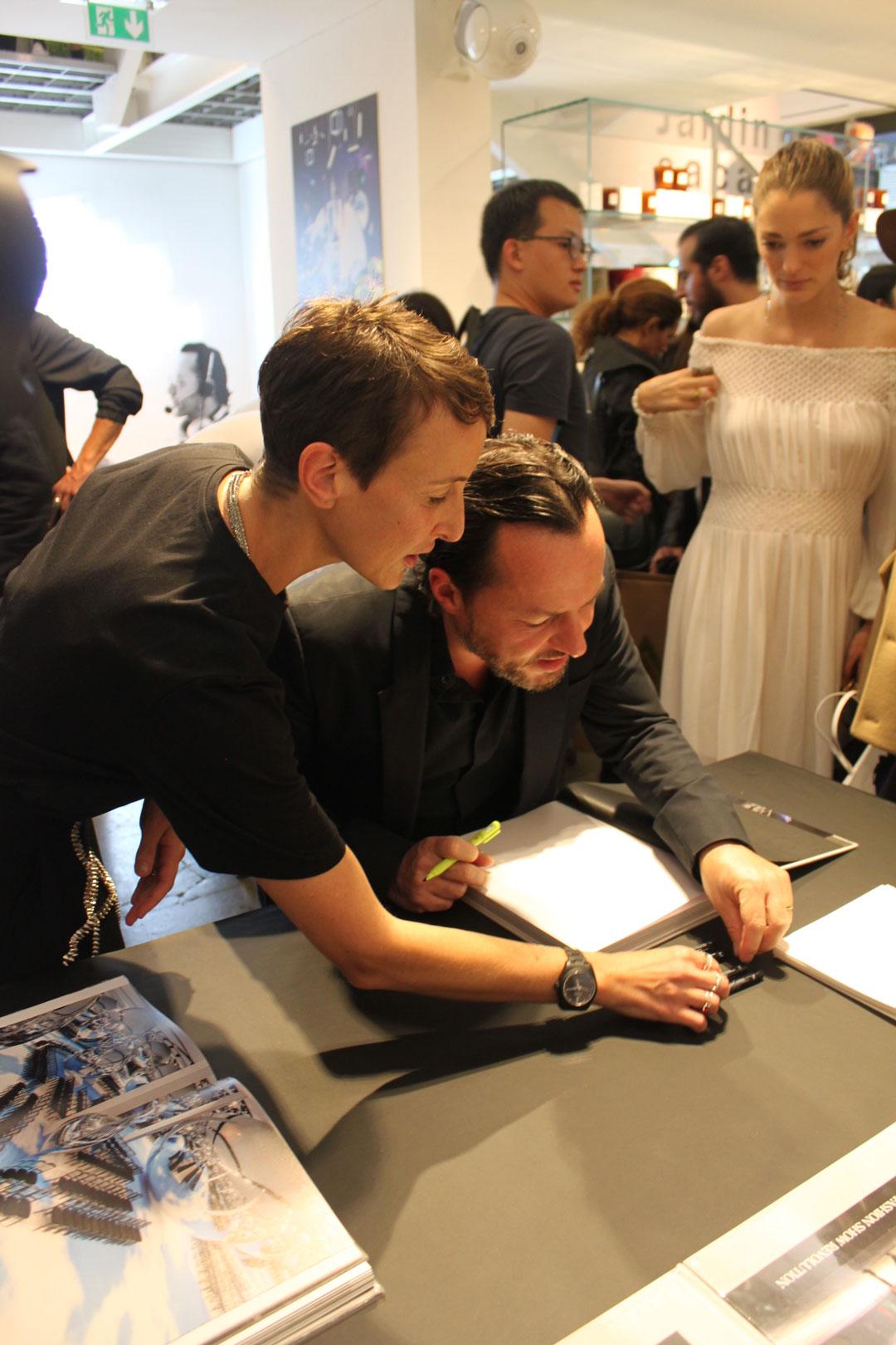 d08f22bcfd Alexandre de Betak and Colette s Sarah Andelman- photo by Hélène Gallois  Montbrun