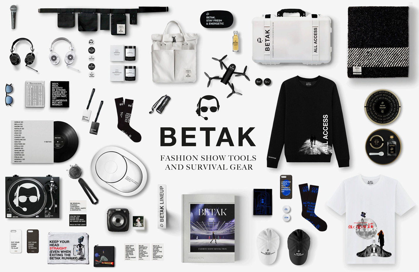 Colette's new Betak collection. Image courtesy of Colette