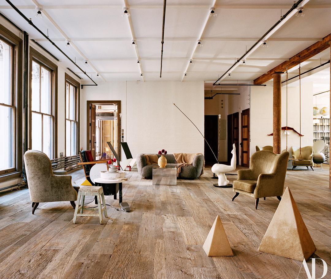 Alexandre De Betak Shows Architectural Digest His Soho