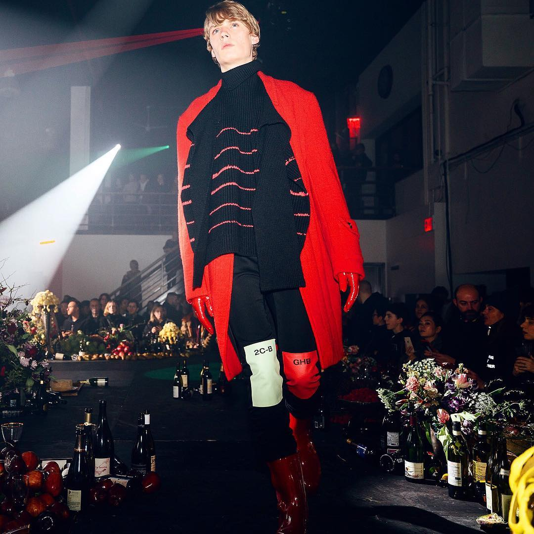 Betak brings Brueghel and blooms to Raf Simons' NY show