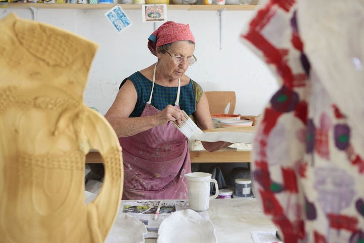 RIP Betty Woodman - the woman who made clay fine art