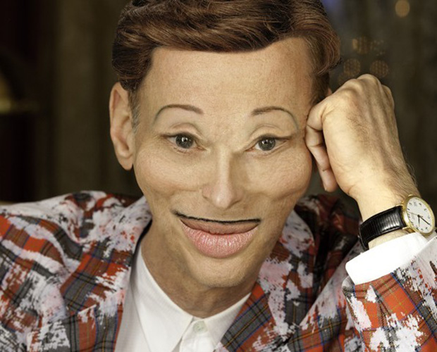 What on earth has John Waters done to himself?