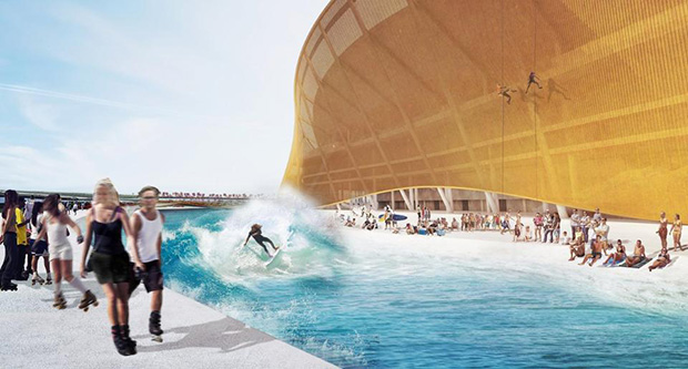 BIG's renderings for the Redskins' new stadium. Images courtesy of redskins.com