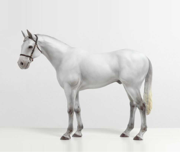 White horse sculpture by Mark Wallinger