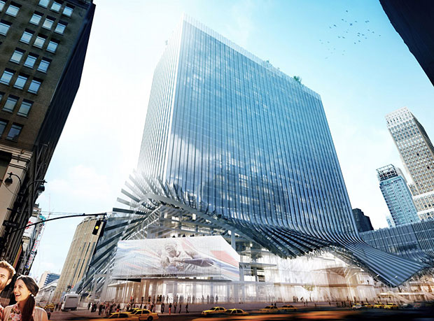 Penn Station as envisaged by Bjarke Ingels and BIG