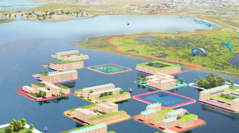 BIG brings floating villages to San Francisco