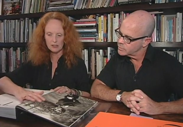At home with Grace Coddington