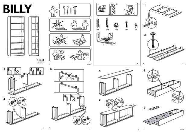 ikea 39 s billy bookcase designer dies design agenda. Black Bedroom Furniture Sets. Home Design Ideas