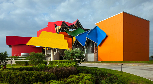 The Biomuseo, Panama, by Frank Gehry