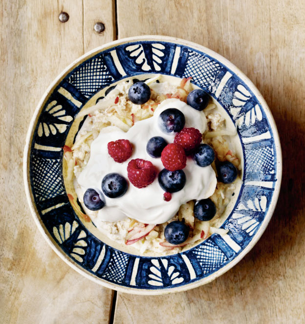 The Phaidon Nutri Blast - Bircher Muesli