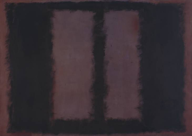 Mark Rothko's Black on Maroon (1958)