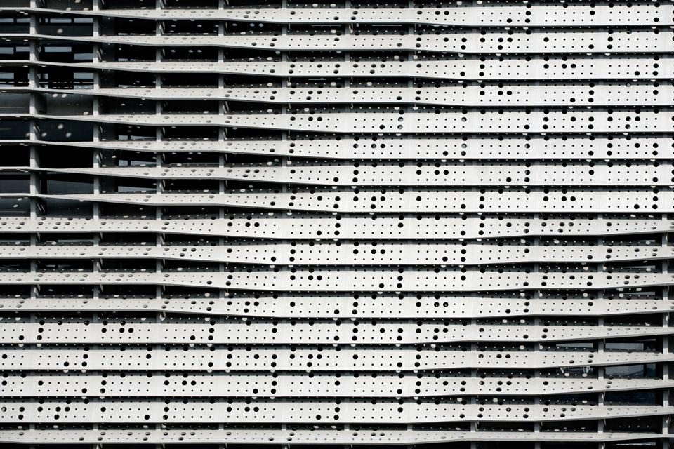 Blinds detail, Lafayette 148 - photo courtesy Tsz Yan Ng