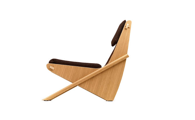 The Boomerang Chair by Richard Neutra