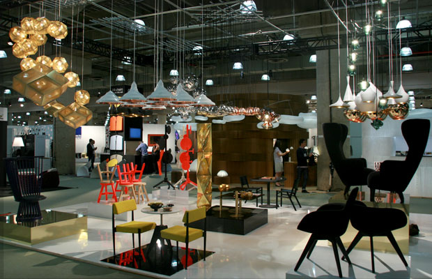 Tom Dixon, Booth 1104 International Contemporary Furniture Fair (2011) Designed to win!