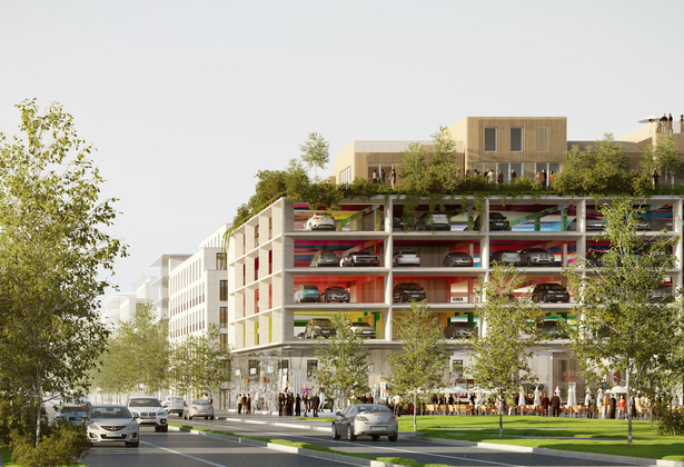 Brisac Gonzalez carpark plans for Bordeaux
