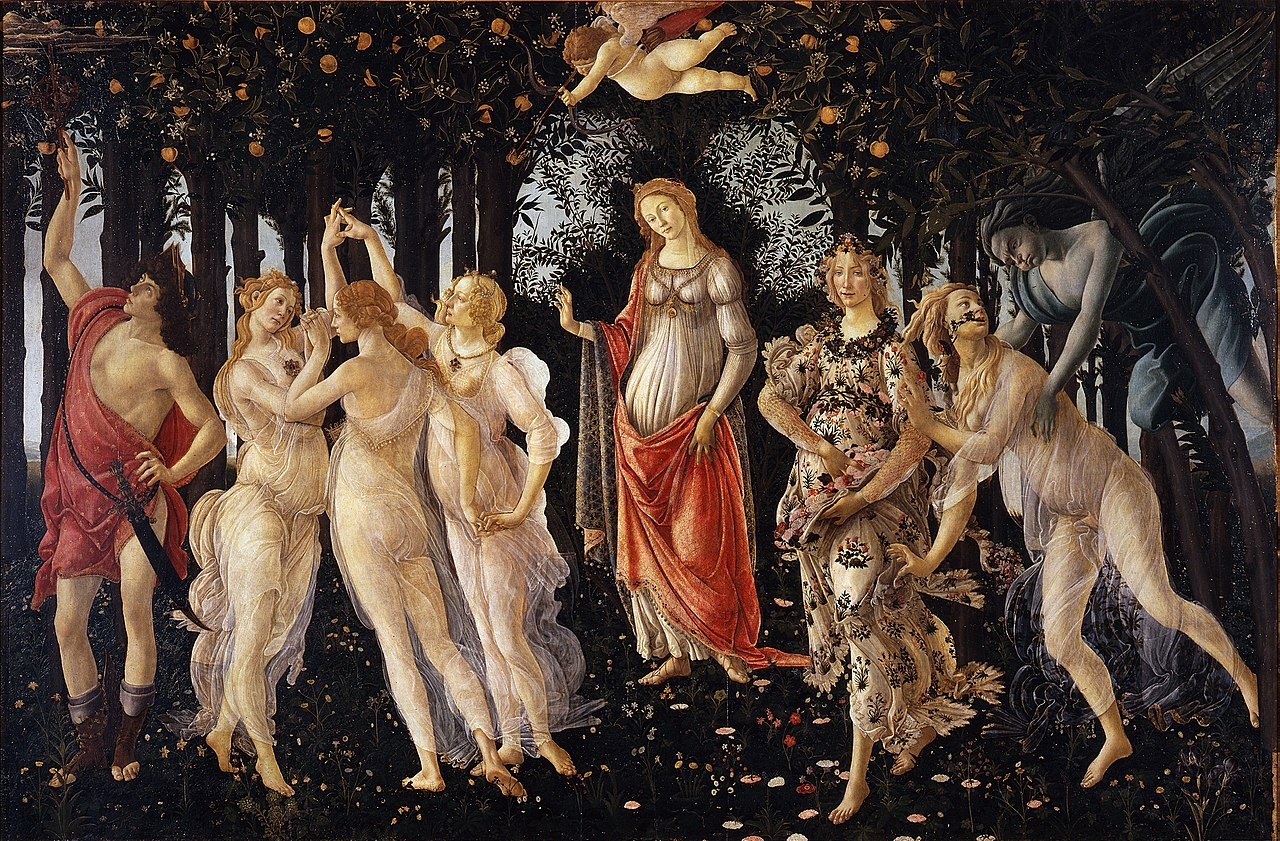 Primavera (c.1482) by Botticelli