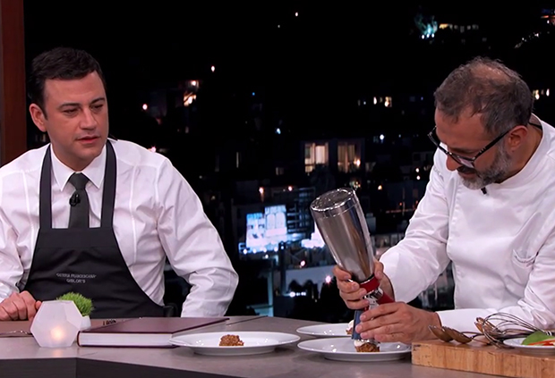 Massimo Bottura is a hit on Jimmy Kimmel Live!