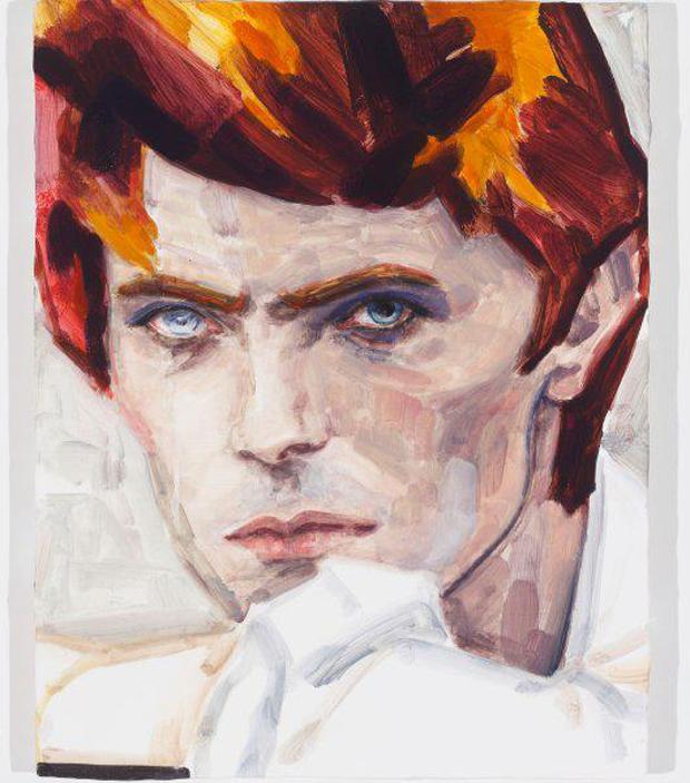 David Bowie (2012) by Elizabeth Peyton