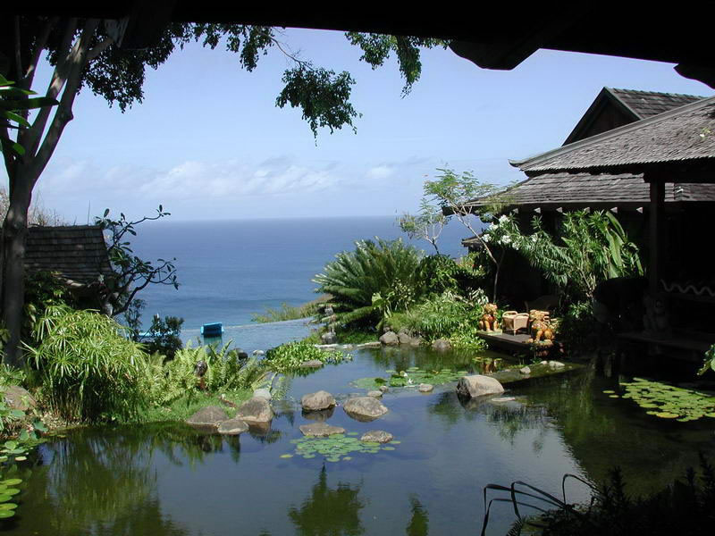 David Bowie's Mustique residence. Image courtesy of ptwijaya.com