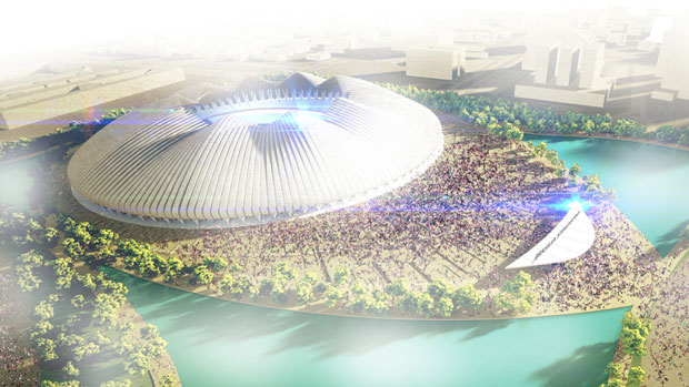 First look at Brazil's Olympic stadium