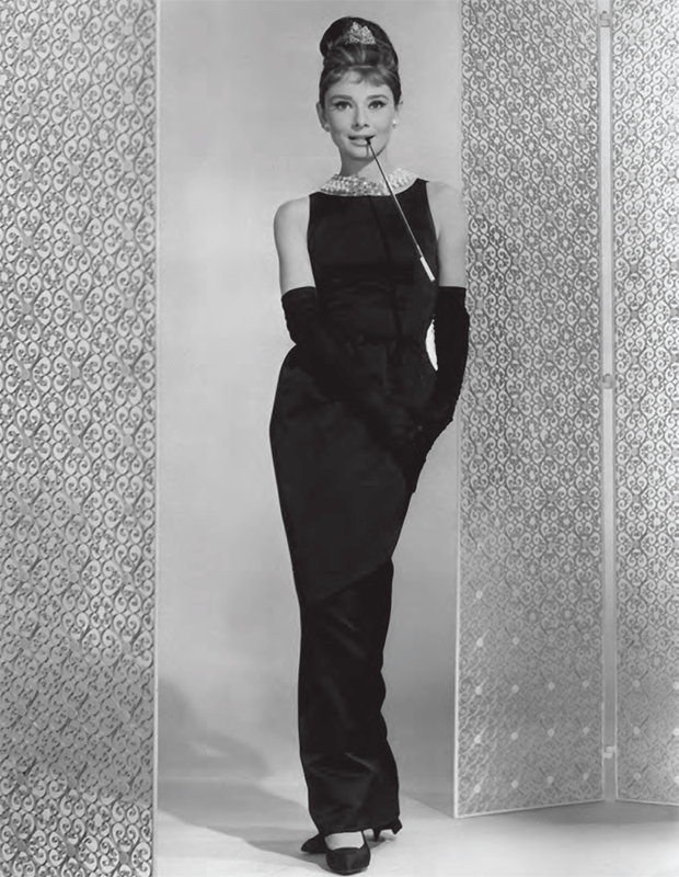 Audrey Hepburn as Holly Golightly in Breakfast at