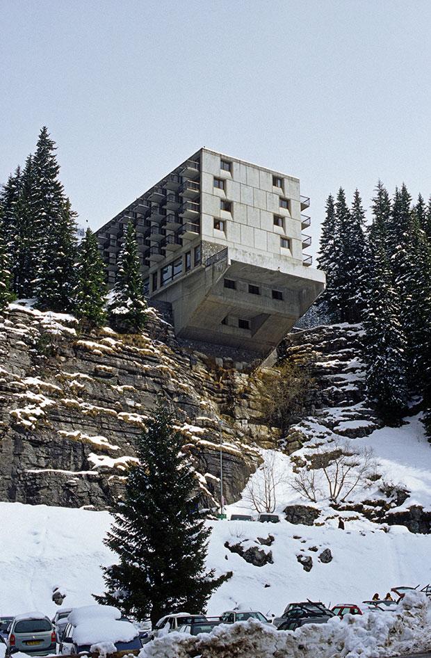 When marcel breuer built a brutalist ski resort architecture agenda pha - Marcel breuer architecture ...