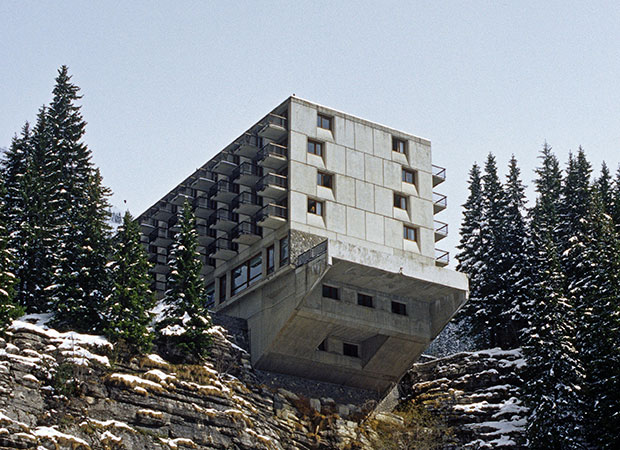 Marcel Breuer's ski resort, Flaine. From This Brutal World