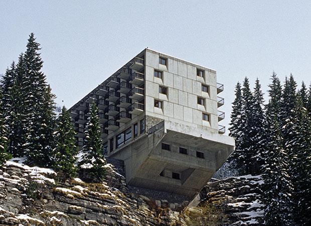 When Marcel Breuer built a brutalist ski resort