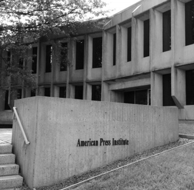 The American Press Institute by Marcel Breuer. Image courtesy of moderncapitaldc.com