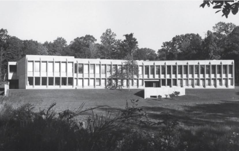 American Press Institute, Reston, USA, 1974, Marcel Breuer & Associates