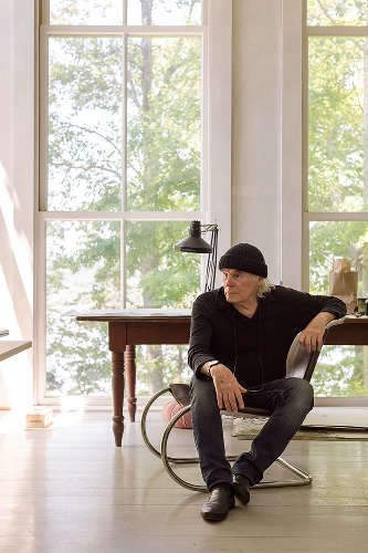 Brice Marden, 2017, by Eric Piasecki. Image courtesy of the Gagosian Gallery