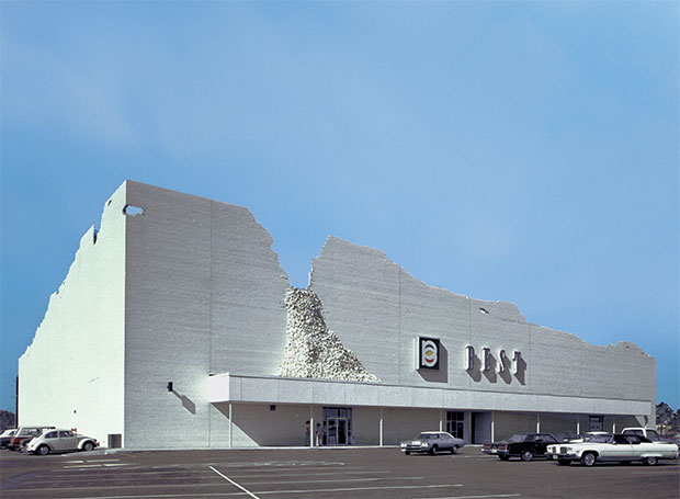 Indeterminate Façade, Houston, Texas 1975