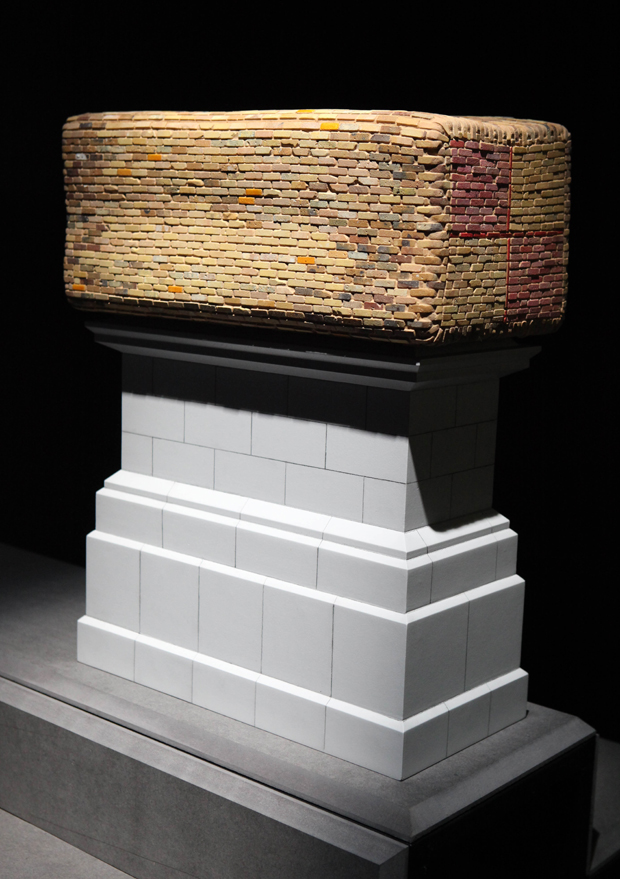 Brian Griffiths, Battenberg, 2010 Commissioned for the Mayor of London's Fourth Plinth Programme  Photo: James O'Jenkins Fourth Plinth: Contemporary Monument