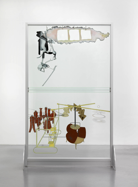 Marcel Duchamp (1987-1968) The Bride Stripped Bare by Her Bachelors, Even (The Large Glass) 1915-23 reconstructed by Richard Hamilton 1965-6, lower panel remade 1985 Tate © The estate of Richard Hamilton