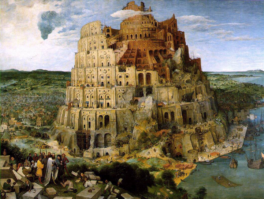 The Tower of Babel (c. 1563) by Bruegel