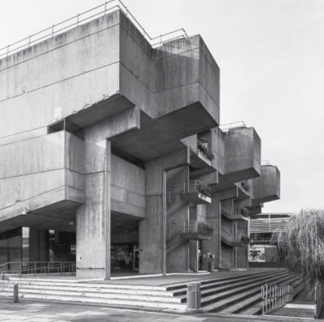 Lecture Centre, Brunel University, London, UK, 1968, by Richard Sheppard. As featured in our new Atlas of Brutalist Architecture